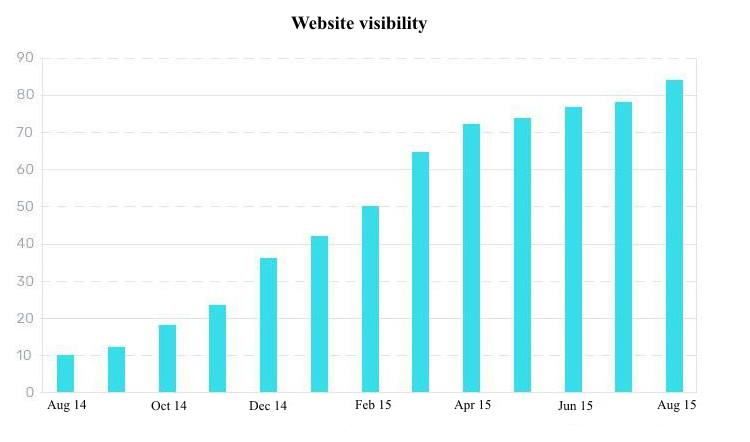 REG RU Website visibility