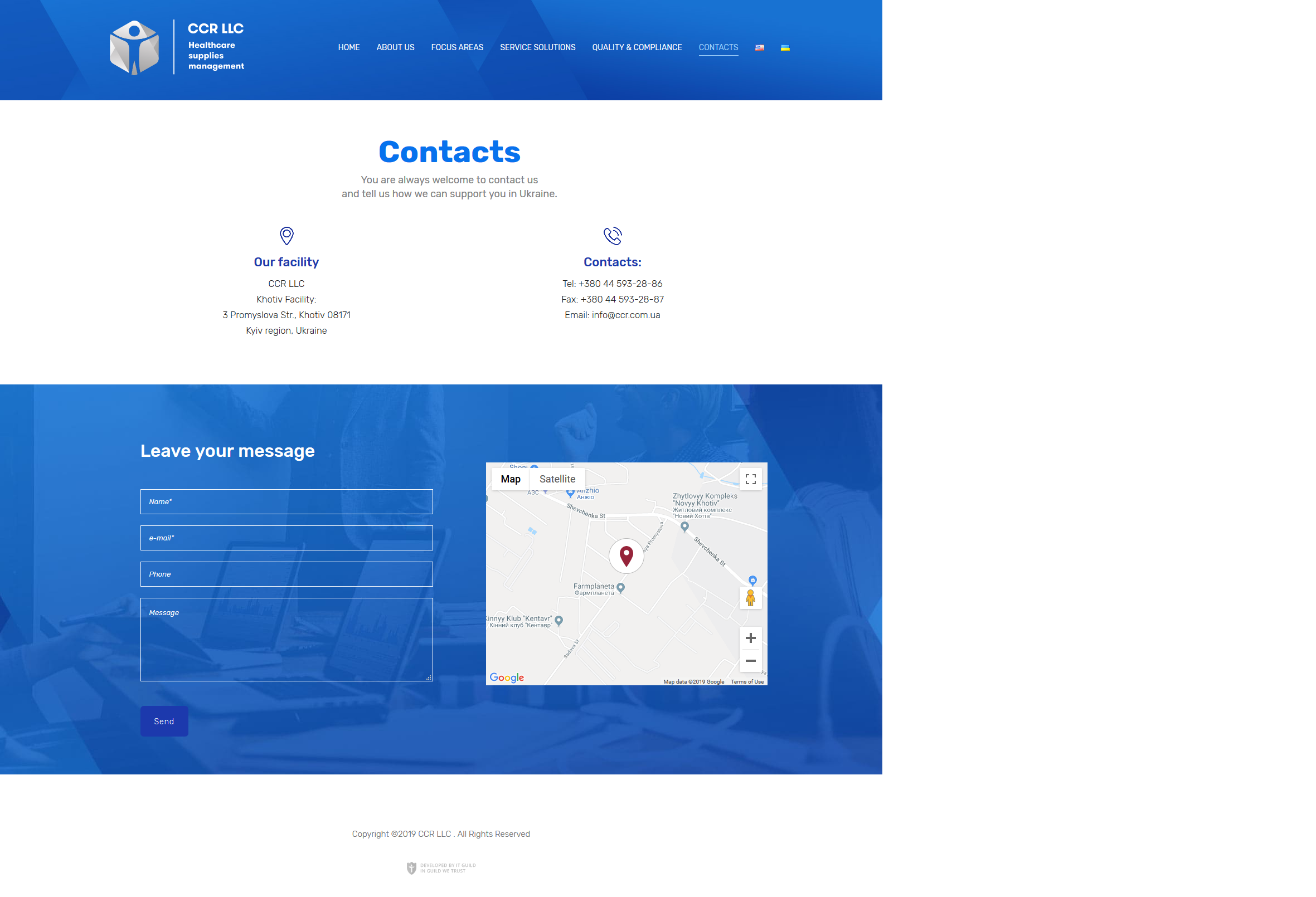 CCR-Contacts