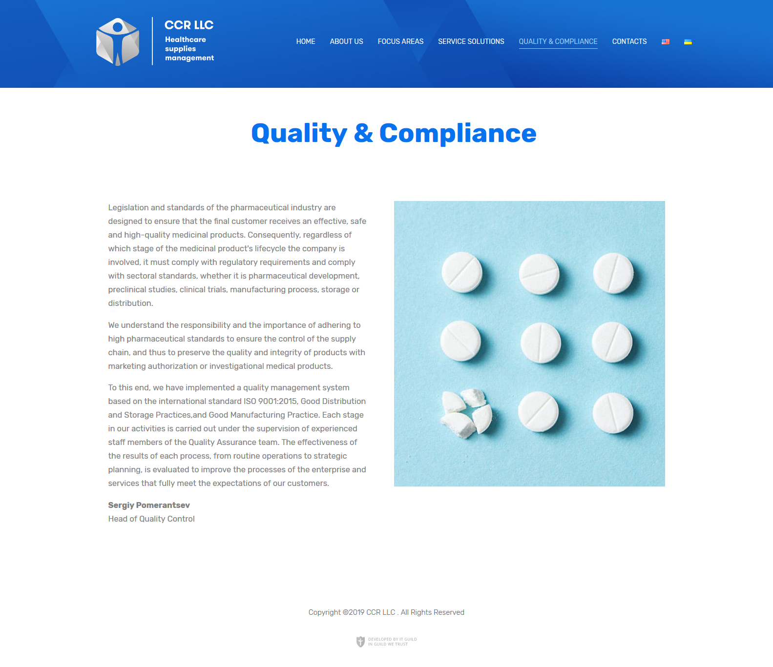 CCR-Quality Compliance
